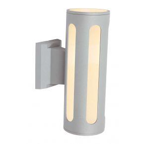 SL LED Απλίκα Τοίχου E27 IP44 Στρογγυλή Κάθετες Ράγες Μεγάλη