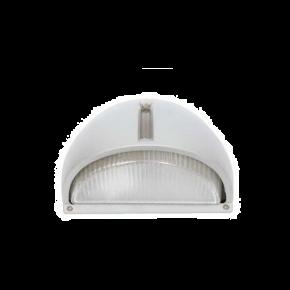 SL LED Απλίκα Τοίχου E27 IP54 Oval Αλουμινίου Μεγάλο