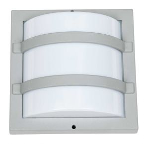 SL LED Απλίκα Τοίχου E27 IP54 Kάθετη Tετράγωνη Ράγες