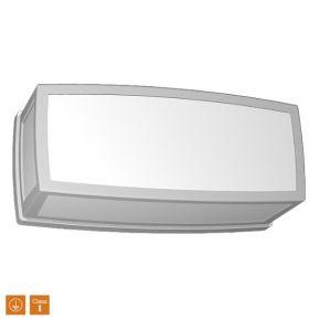 SL LED Απλίκα Τοίχου E27 IP44 Οριζόντιο Πλήρης Πρόσοψη Μικρό