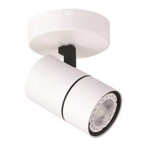 Eurolamp Spot Οροφής Ροζέτα Μονή GU10