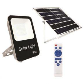 Eurolamp Προβολέας LED SMD Ηλιακός 50W IP65 DC6V