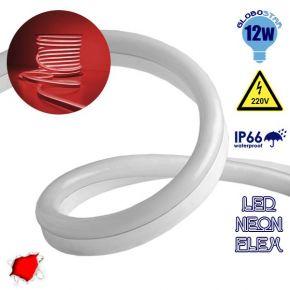 LED NEON FLEX 230 Volt Κόκκινο IP66 Dimmable