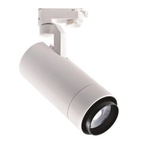 Eurolamp LED Spot Ράγας 30W Μονό Με Ρυθμιζόμενη Γωνία Φωτισμού