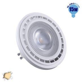 Λαμπτήρας LED AR111 GU10 Globostar 12 Μοίρες 15 Watt 230v Θερμό