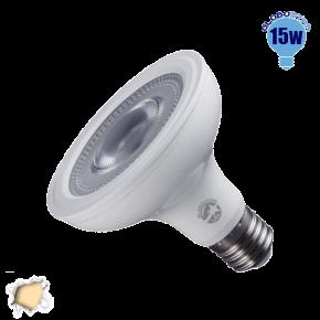 Λαμπτήρας LED E27 PAR30 Globostar 12 Μοίρες 15 Watt 230v Θερμό