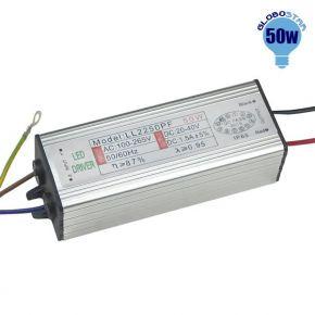 Μετασχηματιστής Προβολέα LED 50 Watt High Quality 0.95PF