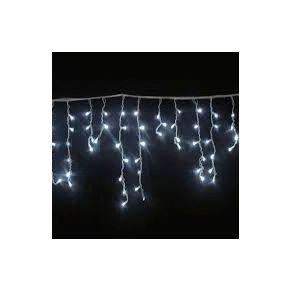 Lucas 100 Χριστουγεννιάτικα Λαμπάκια Σε Σειρά Επεκτεινόμενα Ασύμμετρη Κουρτίνα 3.6W