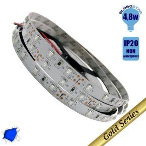 Ταινία LED 4.8 Watt 12 Volt Μπλε IP20