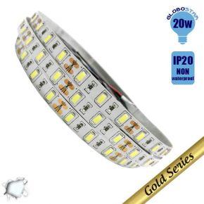 Ταινία LED 20 Watt 12 Volt Ψυχρό Λευκό IP20 Υπερυψηλής