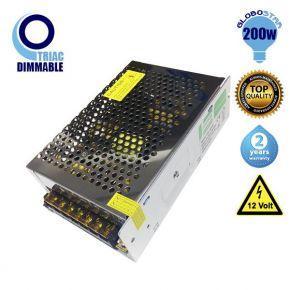 Triac LED Dimmable Τροφοδοτικό Globostar 200 Watt