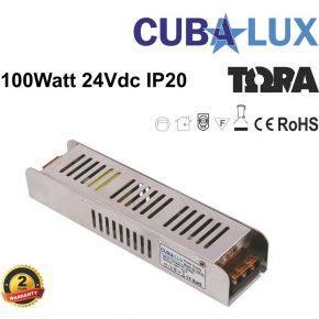 CUBALUX LED Τροφοδοτικό 100W 24V IP20