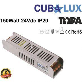 CUBALUX LED Τροφοδοτικό 150W 24V IP20