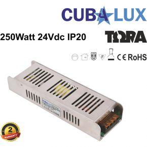 CUBALUX LED Τροφοδοτικό 250W 24V IP20