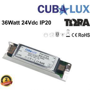 CUBALUX LED Τροφοδοτικό 36W 24V IP20