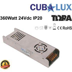 CUBALUX LED Τροφοδοτικό 360W 24V IP20