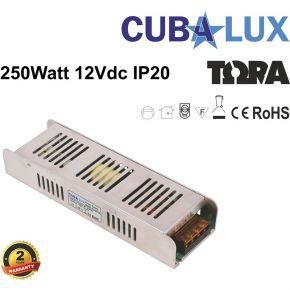 Cubalux Τροφοδοτικό LED 12V 250W IP20