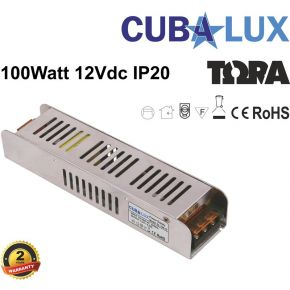 Cubalux Τροφοδοτικό LED 12V 100W IP20