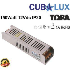 Cubalux Τροφοδοτικό LED 12V 150W IP20