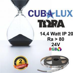 CUBALUX Ταινία LED TΩRA LIGHT RGB 14.4W/m 24V IP20 5m