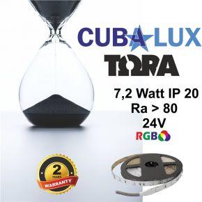 CUBALUX Ταινία LED TΩRA LIGHT RGB 7.2W/m 24V IP20 5m