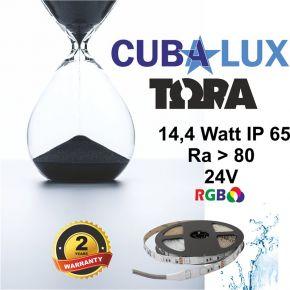 CUBALUX Ταινία LED TΩRA LIGHT RGB 14.4W/m 24V IP65 5m