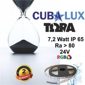 CUBALUX Ταινία LED TΩRA LIGHTRGB 7.2W/m 24V IP65 5m