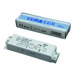 CUBALUX LED Τροφοδοτικό 15W 12V IP20