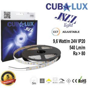CUBALUX Jazz light Ταινία LED IP20 9,6 Watt 24 V CCT Adjustable 5m