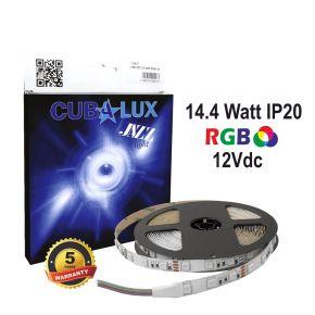 CUBALUX Jazz light RGB Ταινία LED 14.4W/m 12V IP20 5m