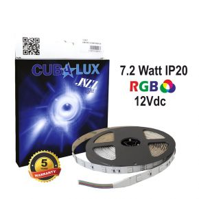 CUBALUX Jazz light RGB Ταινία LED 7.2W/m 12V IP20 5m
