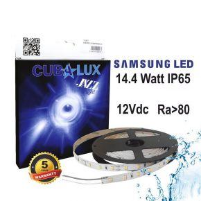 CUBALUX Jazz light Μονόχρωμη Ταινία LED 14.4W/m 12V IP65 5m