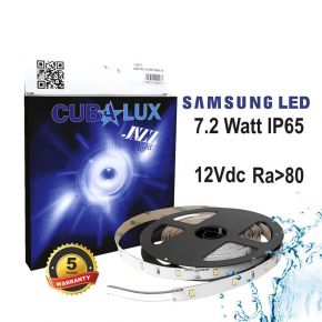 CUBALUX Jazz light Μονόχρωμη Ταινία LED 7.2W/m 12V IP65 5m