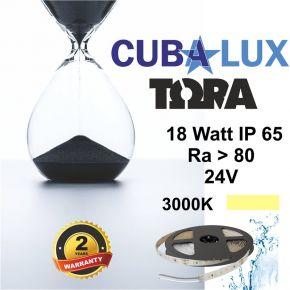 CUBALUX Ταινία LED TΩRA LIGHT Μονόχρωμη 18W/m 24V IP65 5m