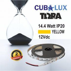 CUBALUX Ταινία LED TΩRA LIGHT Χρωματιστή 14.4W/m 12V IP20 5m