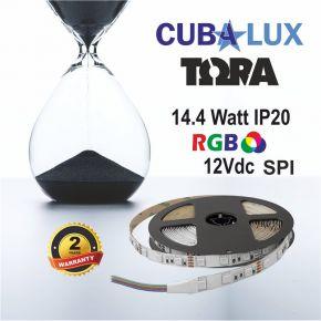 CUBALUX Ταινία LED TΩRA LIGHT RGB Addressable 14.4W/m 12V IP20 5m
