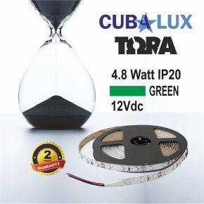 CUBALUX Ταινία LED TΩRA LIGHT Χρωματιστή 4.8W/m 12V IP20 5m