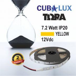 CUBALUX Ταινία LED TΩRA LIGHT Χρωματιστή 7.2W/m 12V IP20 5m