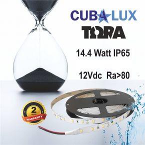 CUBALUX Ταινία LED TΩRA LIGHT Μονόχρωμη 14.4W/m 12V IP65 5m