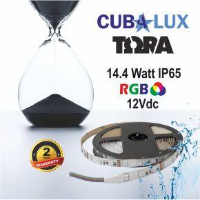 CUBALUX Ταινία LED TΩRA LIGHTRGB 14.4W/m 12V IP20 5m