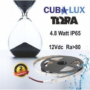 CUBALUX TΩRA Light Μονόχρωμη Ταινία LED 4.8W/m 12V IP65 5m