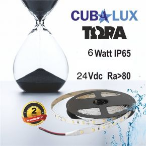 CUBALUX Ταινία LED TΩRA LIGHT Μονόχρωμη 6W/m 24V IP65 5m