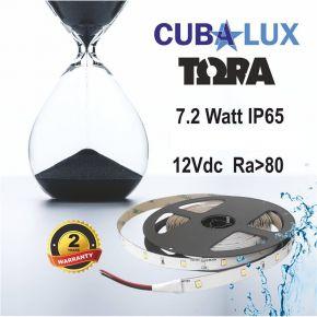 CUBALUX Ταινία LED TΩRA LIGHT Μονόχρωμη 7.2W/m 12V IP65 5m