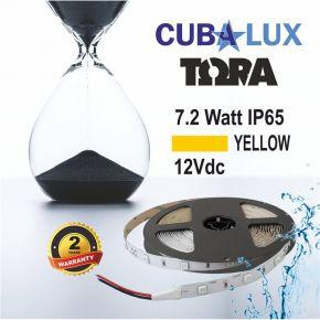CUBALUX Ταινία LED TΩRA LIGHT Χρωματιστή 7.2W/m 12V IP65 5m