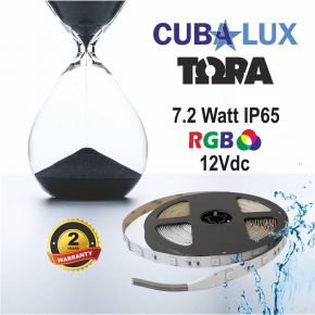 CUBALUX Ταινία LED TΩRA LIGHT RGB 7,2W/m 12V IP65 5m