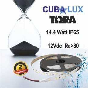 CUBALUX Ταινία LED TΩRA LIGHT Μονόχρωμη 6W/m 24V IP68 5m
