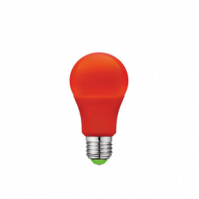 VK LED Λάμπα 5W E27 Classic IP20 Red