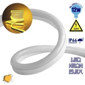 LED NEON FLEX 230 Volt Πορτοκαλί - Χρυσό IP66 Dimmable