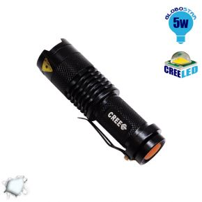 Φορητός Φακός CREE LED T6 3 Mode Zoom