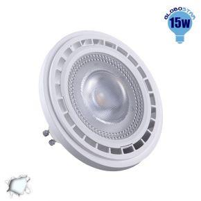 Λαμπτήρας LED AR111 GU10 Globostar 12 Μοίρες 15 Watt 230v Ψυχρό